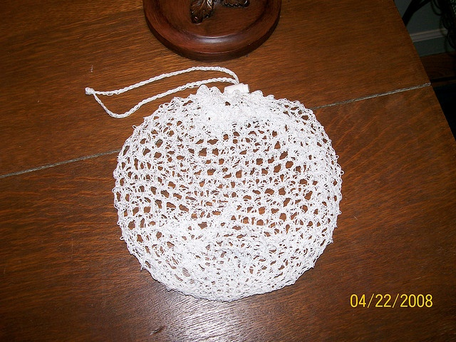 Crochet Laundry Bag : bag for washing and not looseing thos little baby socks and things