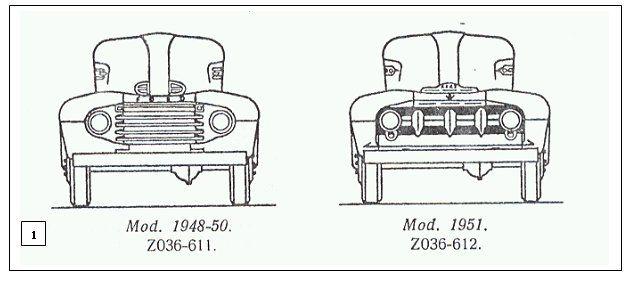 1948-50 & 1951 Ford COE F-6
