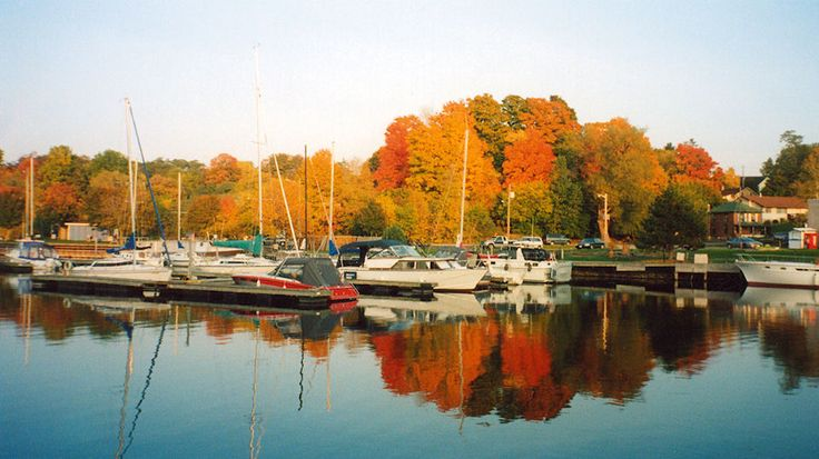 Picton Harbour in fall