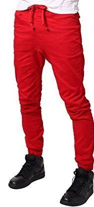 Men's Red Jogger Pant