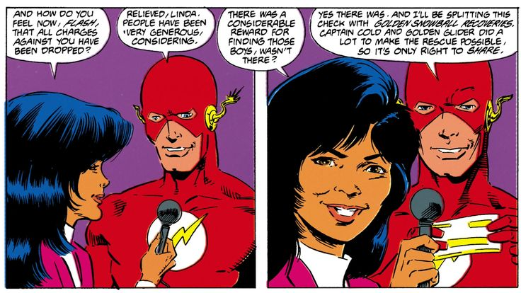 The Flash # 28 | Written by William Messner-Loebs, pencilled by Greg LaRocque