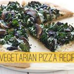 Sweet Potato Pizza with Kale and Caramelized Onions | Recipe