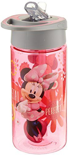 Disney Jr Minnies BowTique 14 Oz Water Bottle -- Read more  at the image link.