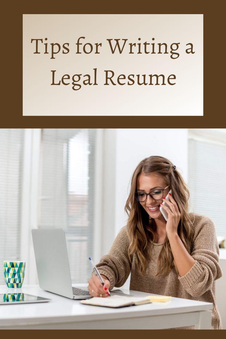 Legal cv writing service