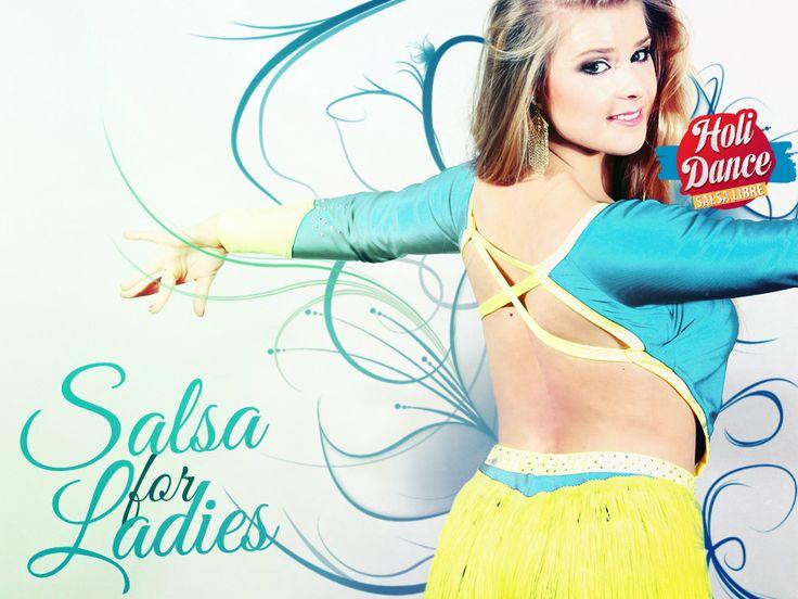 Salsa4Ladies od podstaw z Sandrą - przez 5 dni o 18:00 od poniedziałku 17.08! Zapraszamy :)
