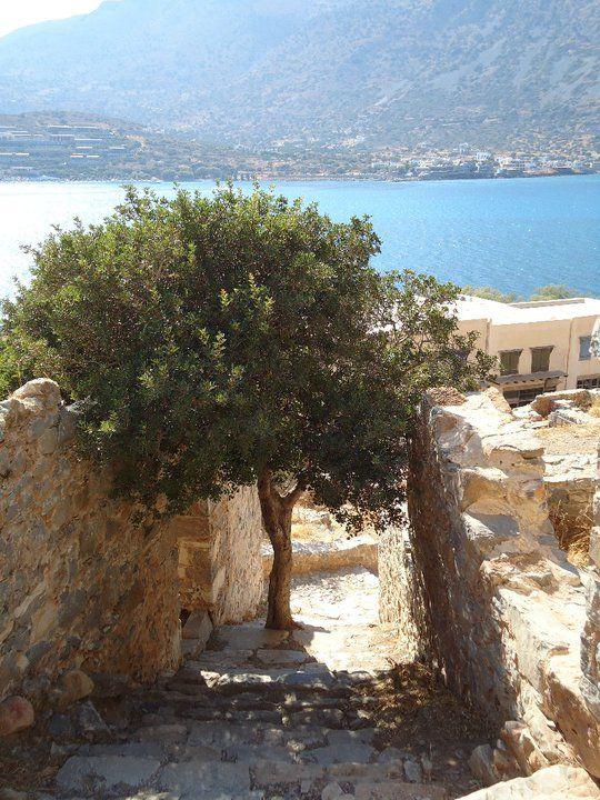 Spinalonga in Crete, greece
