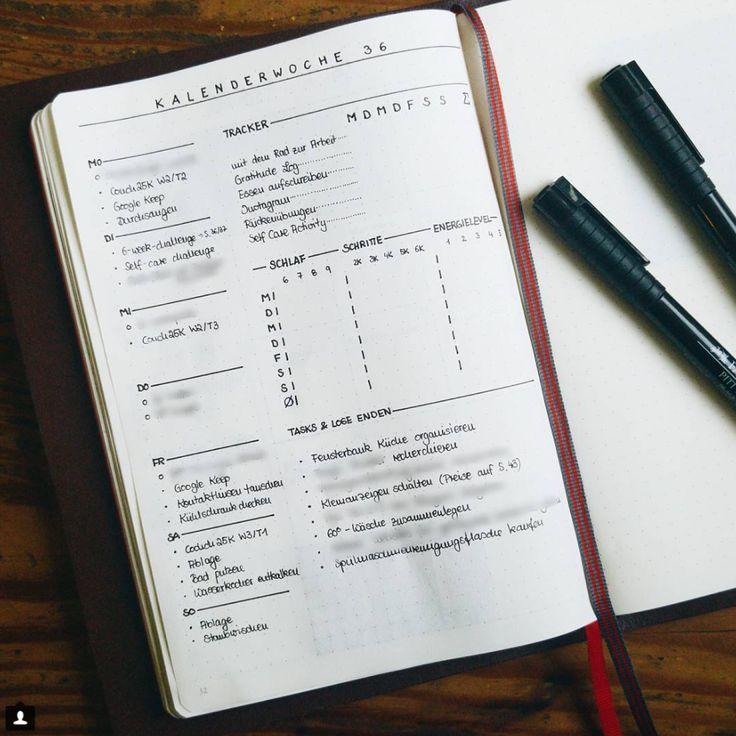 10 id es de page weekly log pour votre bullet journal bullet journal pinterest bricolage. Black Bedroom Furniture Sets. Home Design Ideas
