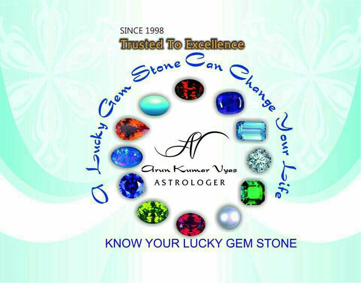 Know Your Lucky Gem Stone