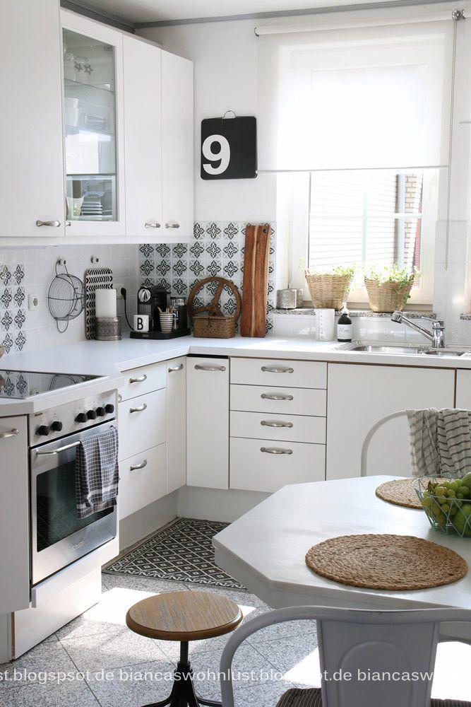 Die besten 25+ Küche vorher nachher Ideen auf Pinterest vorher - klebefolie für küchenschränke