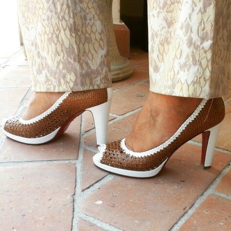 Daniele Tucci italian shoes, décolleté open toe really hand made to hand woven tradition.  www.danieletucci.com
