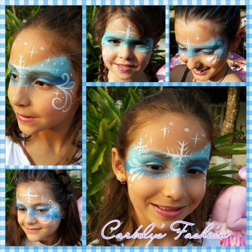 Frozen facepainting/Pinta caritas