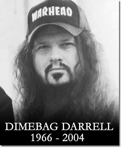 Damage Plan and Pantera's  Dimebag Darrell  August 20, 1966 – December 8, 2004
