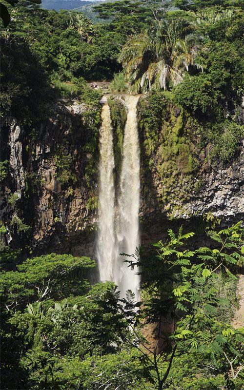 Chamarel Falls in Mauritius, a real paradise! Travel tips here: www.espressofiorentino.com Cascada Chamarel en Isala Mauricio, un auténtico paraíso! Más consejos de viaje en: www.espressofiorentino.com #falls #waterfalls #chamarel #mauritius #island #nature #paradise #paraiso