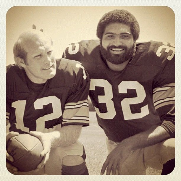 Two pretty good players Steelers of Old