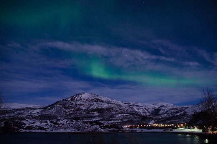 Northern Lights Over Alta Norway