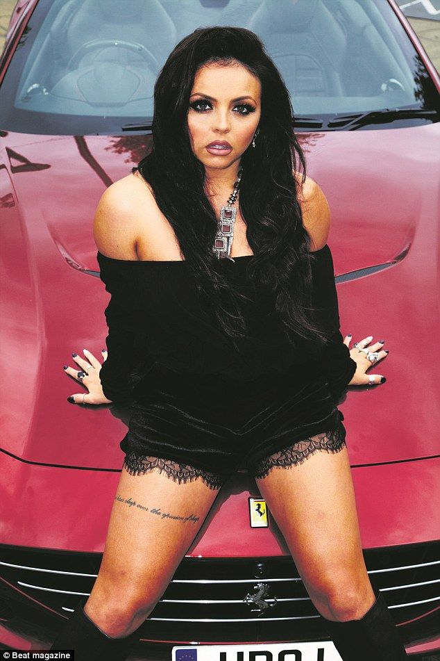 Jesy Nelson steals spotlight from Little Mix in new edgy fashion shoot #dailymail