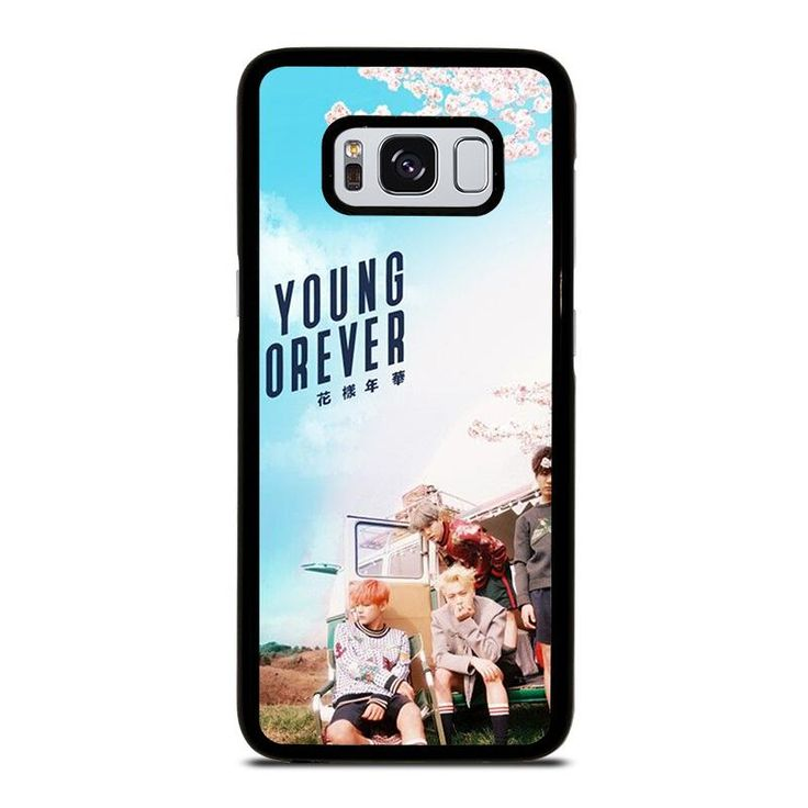 YOUNG FOREVER BANGTAN BOYS Samsung Galaxy S4 S5 S6 S7 S8 S9 Edge Plus Note 3 4 5 8 Case Cover