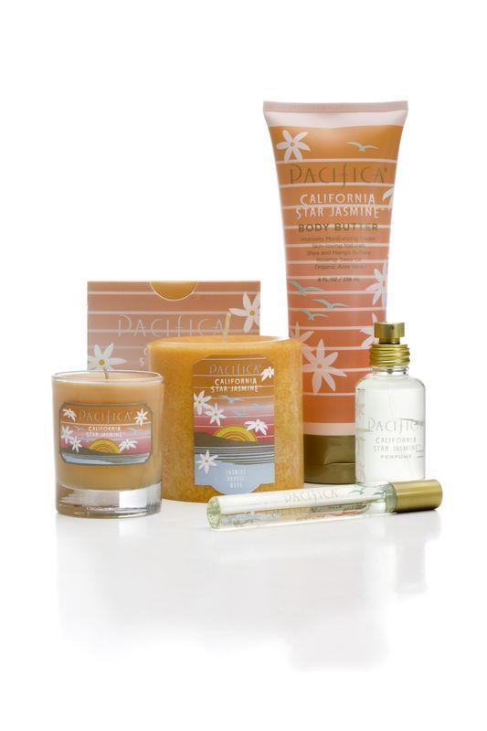 De heerlijke geurlijn van Pacifica!  Parfums, cosmetica en lichaamsverzorging.