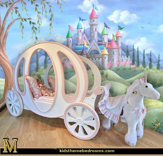 Your little princess will be living one big fairy tale life! Variety of Carriage Beds for the little Cinderella Princess.
