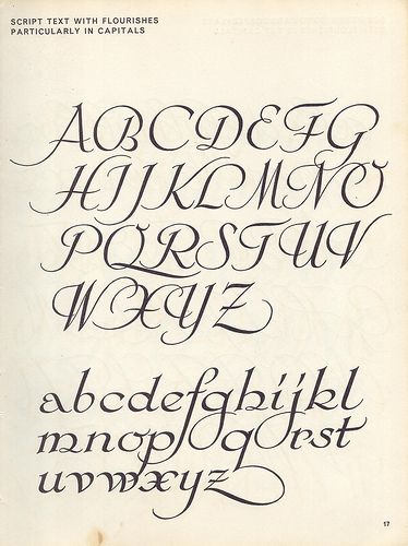 Script lettering (1957) p11