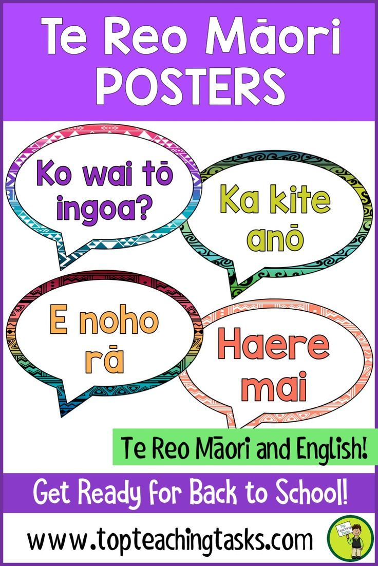Brighten up your classroom while teaching Te Reo with these Te Reo Māori Greetings, Introductions and Farewells Posters. These posters come in both English and Te Reo Māori. #TeReoPosters #Posters Perfect for #BacktoSchoolNZ #BacktoSchool