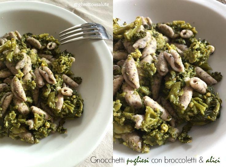 Cavatelli con broccolo siciliano ed alici by Ghiotto di salute