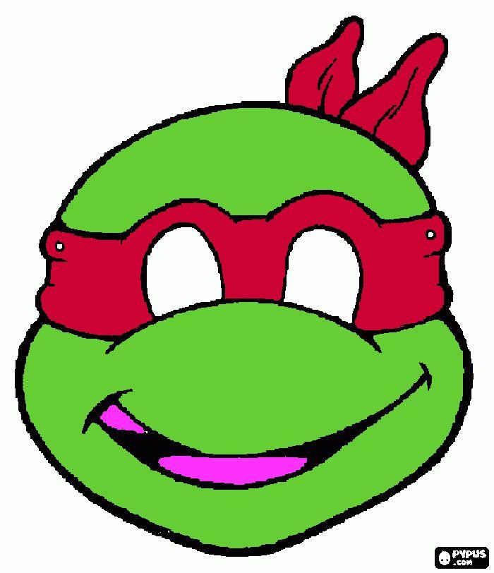 Les 25 meilleures id es de la cat gorie masque de tortue for Repere des tortue ninja