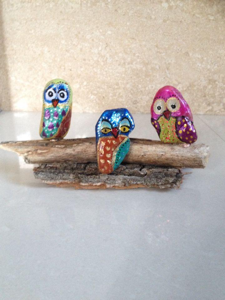 Stones Owls