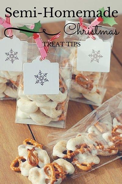 Semi Homemade Christmas Treat Tips