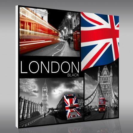 Tableaux Londres -50% sur les prix magasin Stickers-Muraux.fr