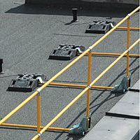 Lapostető korlát, nem igényel fix rögzítést a tetőhöz, bármikor áthelyezhető - Better&Better