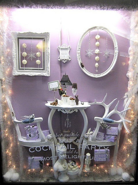 Window display for MoRoCo Chocolat Boutique in Yorkville, Toronto