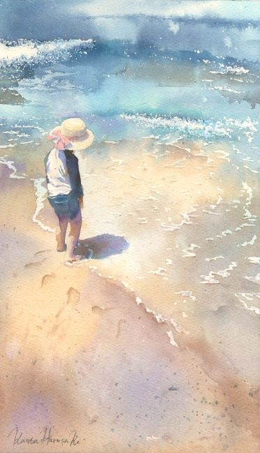 Kanta Harusaki's (Watercolor) painting