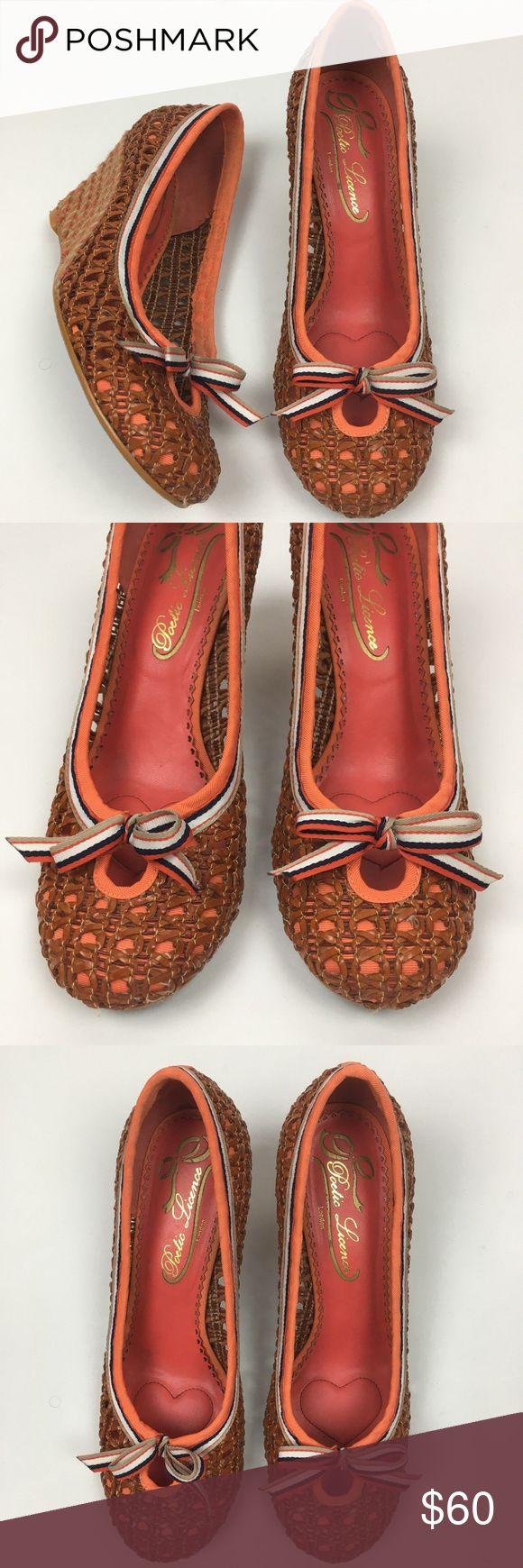 """Poetic Licence """"Wonder About"""" Wedge Sandal Heels Poetic Licence London """"Wonder About"""" Multi-Color Wedge Sandal Heels Sz 8.5 Women Poetic License Shoes Wedges"""