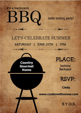 Outdoor BBQ Decoration Ideas - Barbeque season is upon us.  First, create sensational  bbq invites to send out, then look to these easy BBQ inspired decoration ideas for your patio or deck space.
