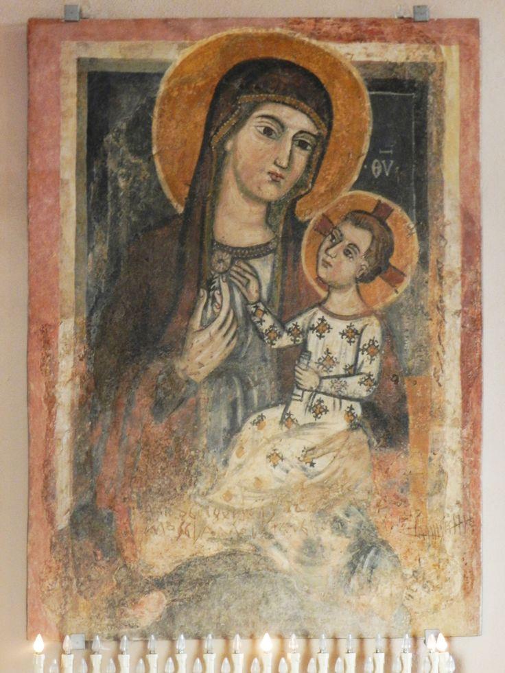 Casarano - S. Maria della Croce, affresco.