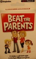 Beat The Parents Card Game - New