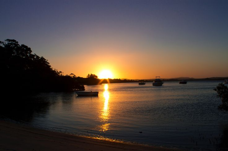 Winda Woppa, NSW Australia at sunset  Copyright of Jo Thom
