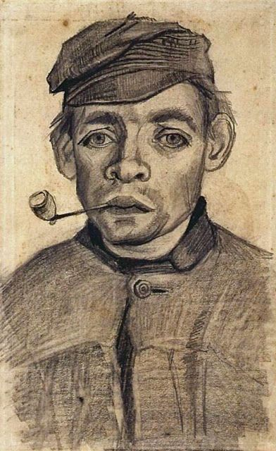 ART & ARTISTS: Vincent van Gogh drawings - part 3