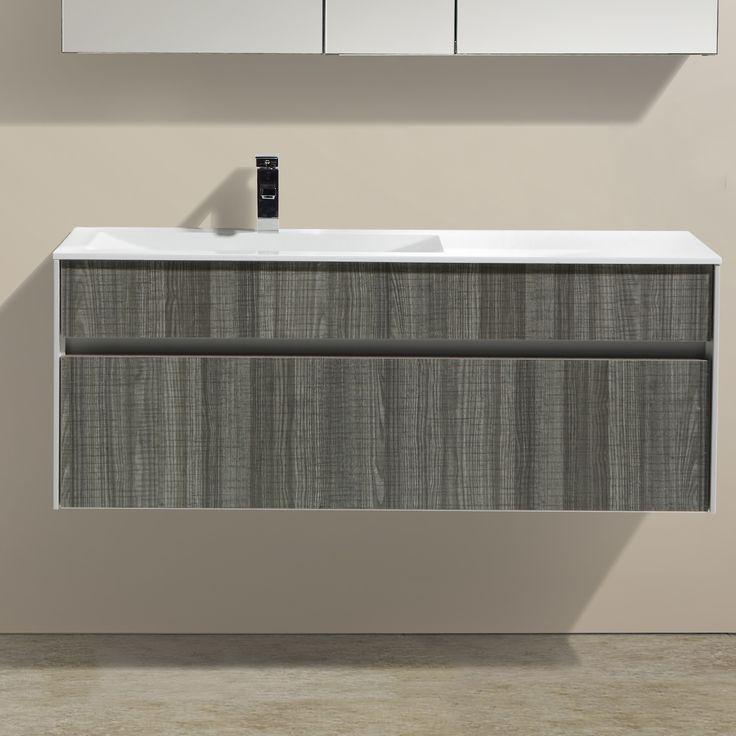 modern bathroom fountain valley reviews%0A Eviva Ashy      Single Bathroom Vanity Set