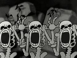 gif Gifmovie Black and White vintage horror cartoon vintage cartoons 1930's