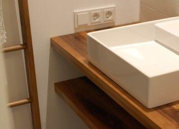1000 ideas about waschtisch massivholz auf pinterest waschbeckenunterschrank holz badm bel. Black Bedroom Furniture Sets. Home Design Ideas