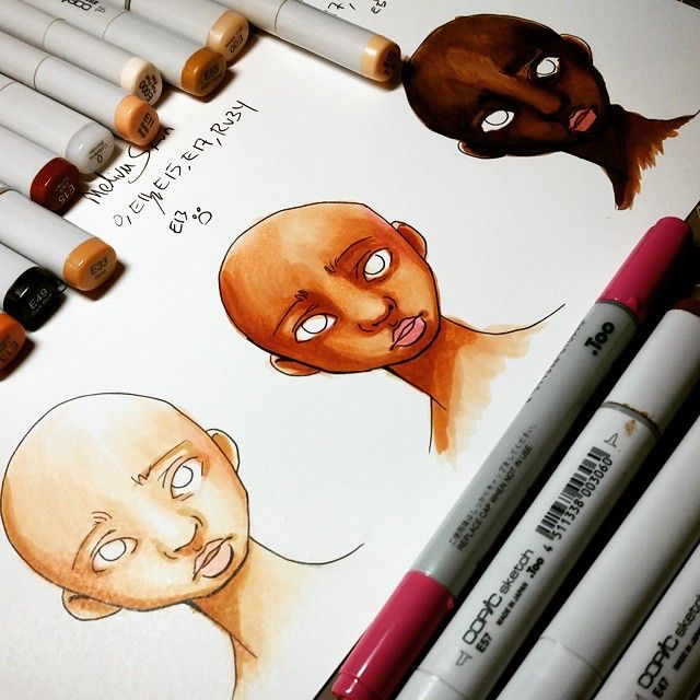 Just Uploaded My Copic Coloring Tutorial Videos Covering