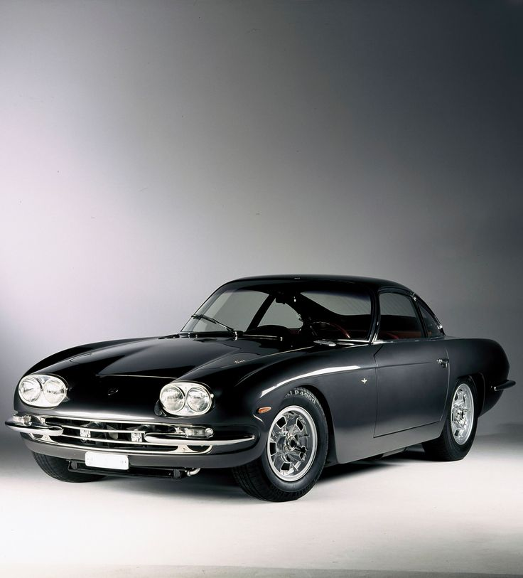 Lamborghini 400 GT - one of the first, when they still looked like cars instead of impossible egress/exit wedges.