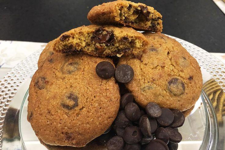 Cookie Original de Chocolate   Doces e sobremesas > Cookies   Mais Você - Receitas Gshow