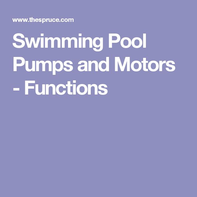 25 Best Ideas About Pool Pumps On Pinterest Pool
