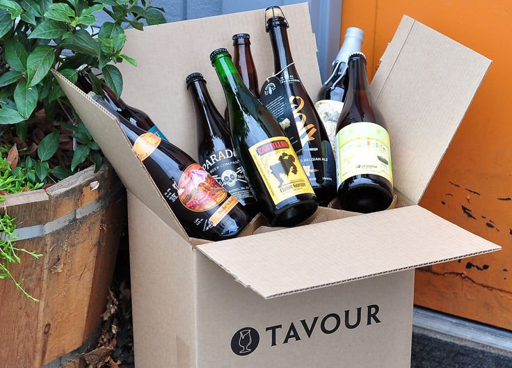 A portion of proceeds from your Tavour.com beer-to-your-door order benefit Water.org.
