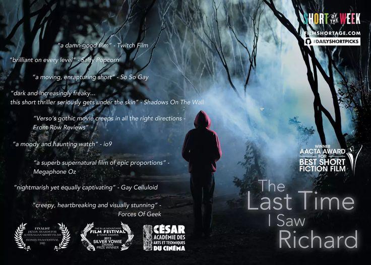 The Last Time I Saw Richard on Vimeo