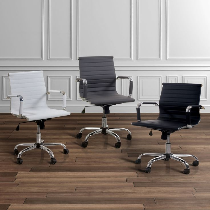 Enhance Your Productivity With This Furniture Of America Ribbed Office  Chair. Its Sleek Modern Design