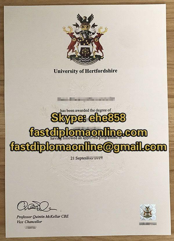 university of hertfordshire degree certificate sample 2018